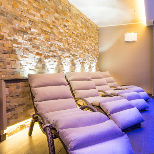 Relaxation Area, Hotel Torino wellness & spa